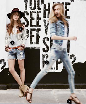 Pepe Jeans London abbigliamento primavera estate 2013