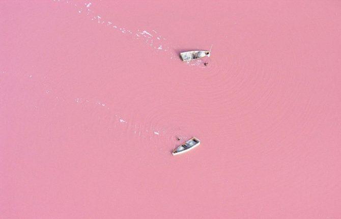 Pink Lake Retba Senegal