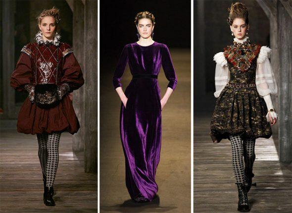 Stile Barocco Moda Autunno Inverno 2013 2014
