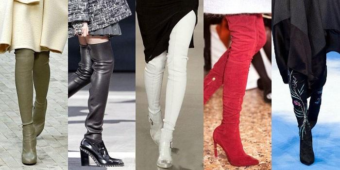 Stivali-calza strettissimi autunno inverno 2014