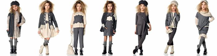 Twin Set Girl abbigliamento bambini catalogo autunno inverno