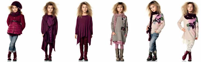 Twin Set Girl bambini catalogo autunno inverno