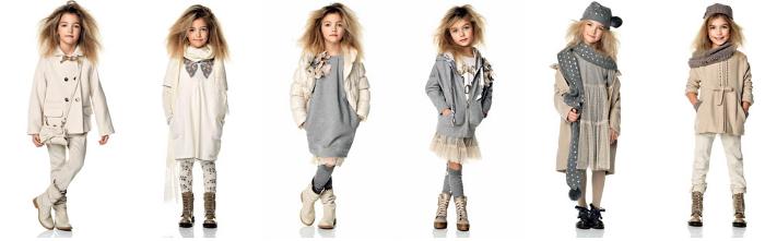Twin Set Girl collezione bambini autunno inverno