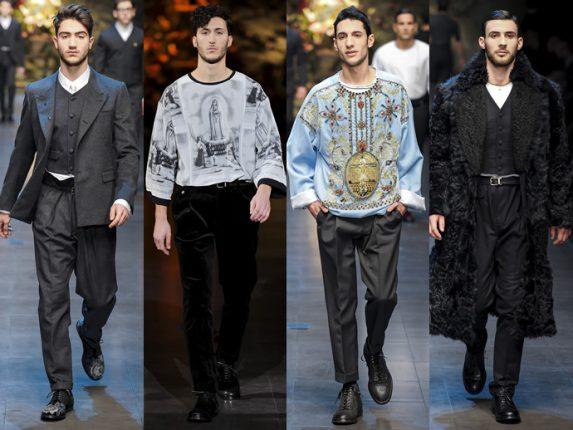 Uomo Dolce  Gabbana autunno inverno 2014