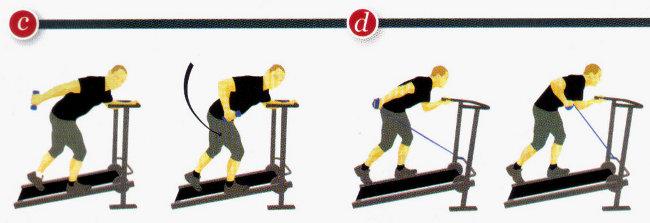 Con tapis roulant esercizi fitness senza stress