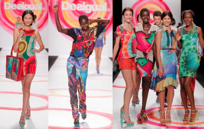 Desigual abbigliamento moda collezione primavera estate 2014