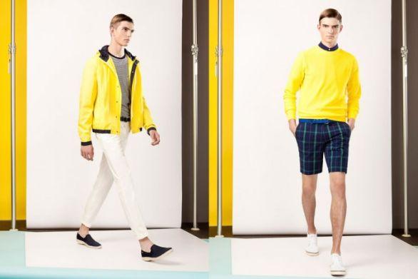 Newman abbigliamento moda collezione primavera estate 2014
