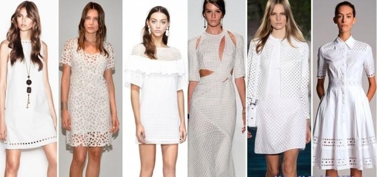 Abiti traforati moda primavera estate 2014