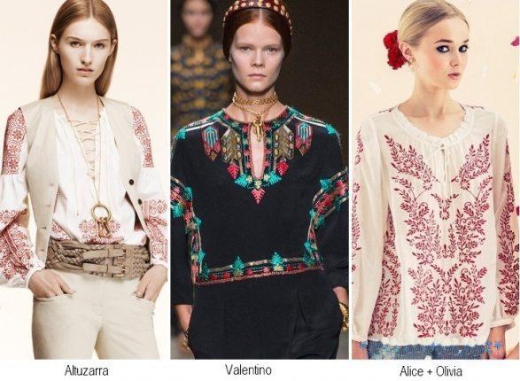Camicie etniche moda primavera estate 2014