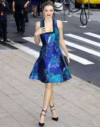 Celebrità più eleganti nel 2013 secondo Vogue Miranda Kerr