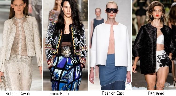 Giacche moda primavera estate 2014