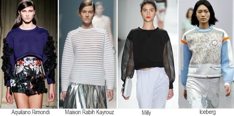 Maglie moda primavera estate 2014