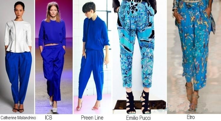 Pantaloni moda primavera estate 2014