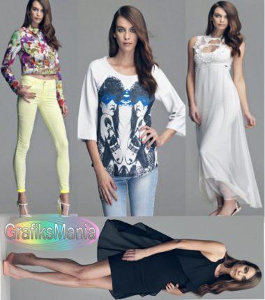 Fornarina collezione abbigliamento moda primavera estate 2014