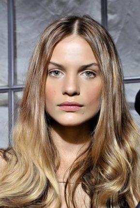 Tendenze di colore dei capelli 2014 colore naturale e brillante