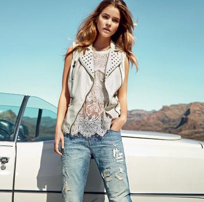Abbigliamento Twin Set jeans primavera estate 2014
