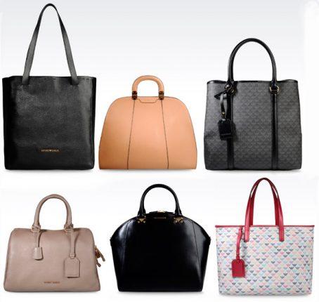 Borse Armani collezione moda donna e catalogo prezzi primavera estate 2014