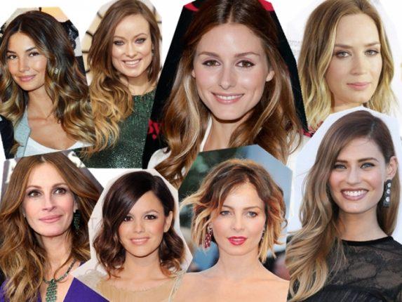 Capelli con le ombre trend che impazza tra le celebrità