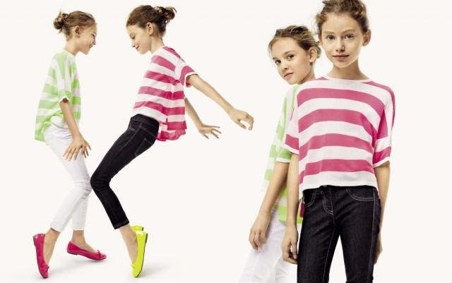 Collezione kids Benetton primavera estate 2014