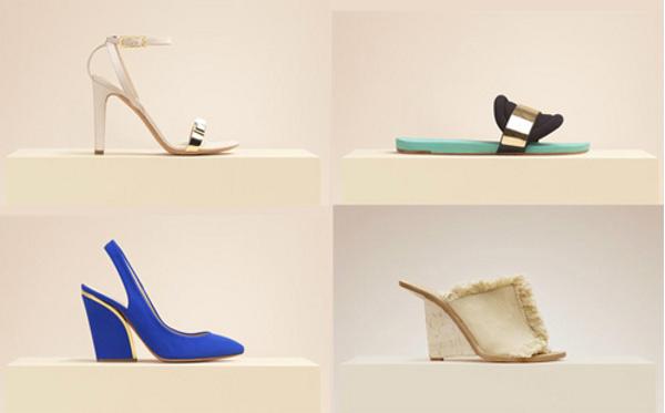 Collezione scarpe Chloé primavera estate 2014