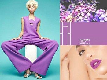 Colore moda estate 2014 - Radiant Orchid