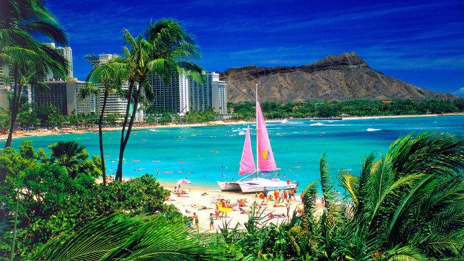 Hawaii-Luna di miele