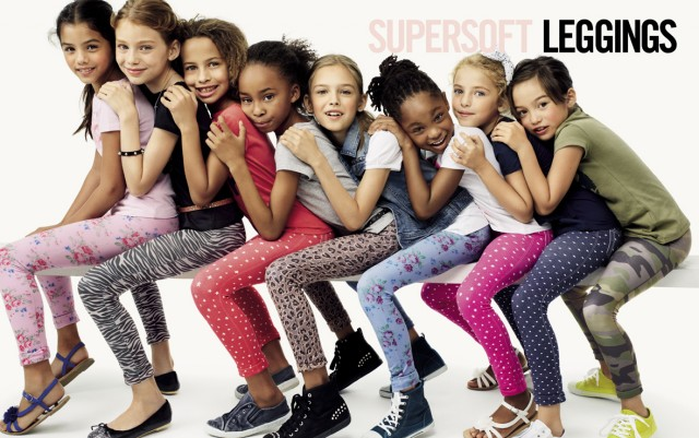 Leggings bambini Benetton primavera estate 2014