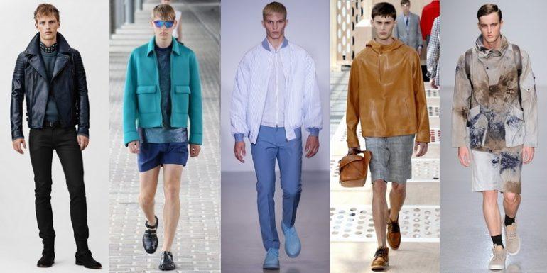 Look Uomo alla moda primavera estate 2014