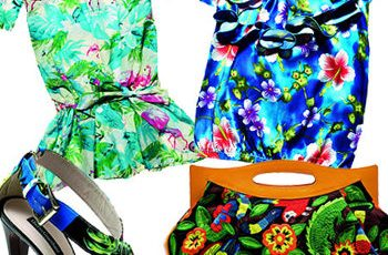 Stampe tropicali tendenze moda 2014