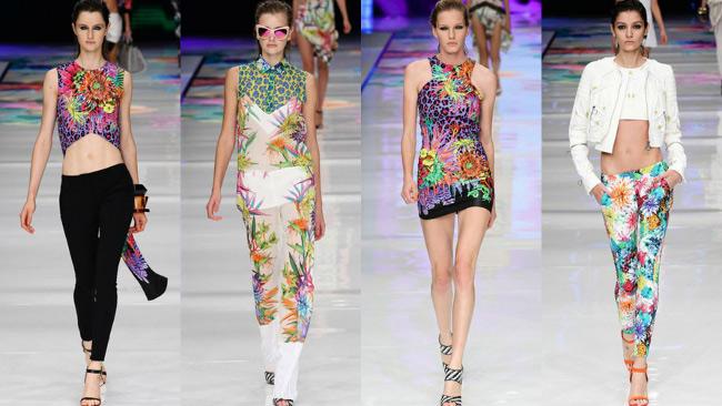 Stampe tropicali tendenze moda per aumentare buon umore