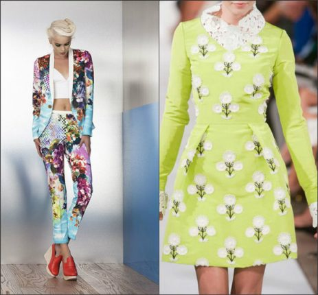 Stampe tropicali tendenze moda