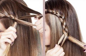 Treccia laterale tutorial capelli lunghi