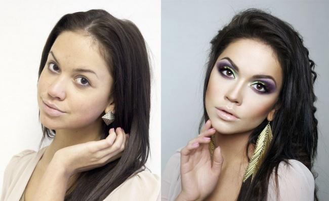 Trucco prima e dopo foto make up che fa miracoli-8