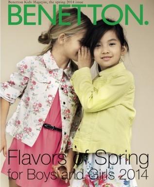 United Colors of Benetton primavera estate 2014 bambini