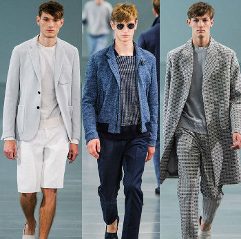 Uomo alla moda primavera estate 2014