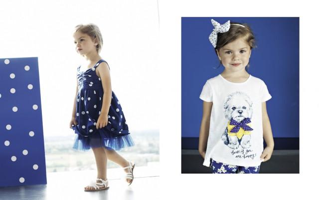 Vestiti bambini Benetton primavera estate 2014
