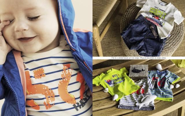 Vestiti bambino Benetton primavera estate 2014