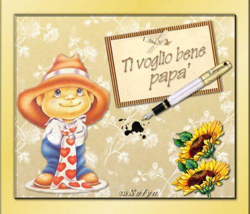 ti voglio bene papa