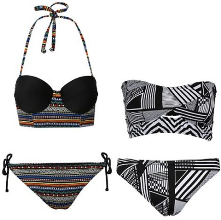 Primark costumi da bagno e bikini estate etnici