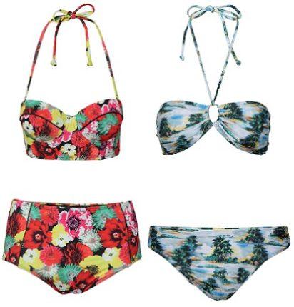 Primark costumi da bagno e bikini estate tropicali