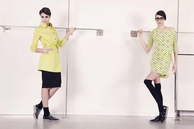 Abbigliamento Sandro Ferrone primavera estate 2014