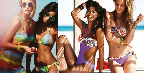 Bikini Golden Lady
