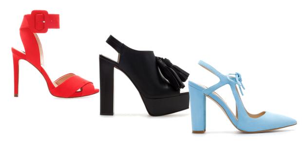 Collezione scarpe Zara estate 2014