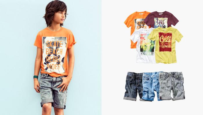 HM Kids abbigliamento bambini estate