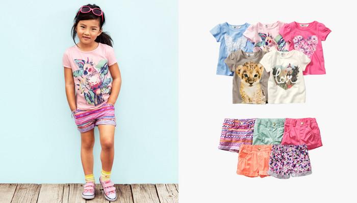 HM Kids abbigliamento estate