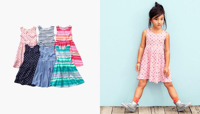 HM Kids catalogo abbigliamento bambina estate