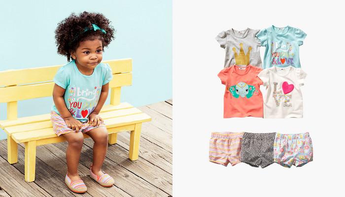 HM Kids catalogo abbigliamento bambino estate