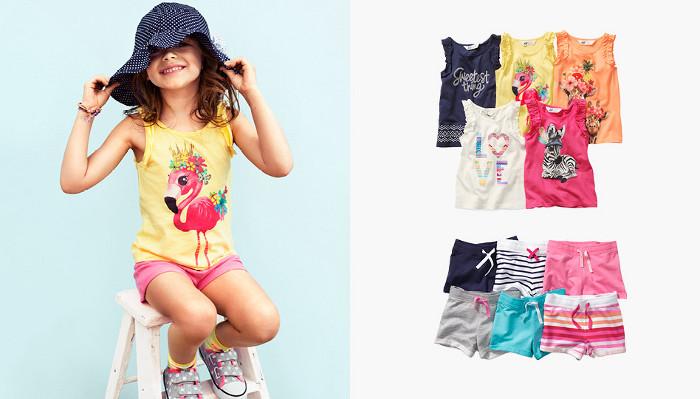 HM Kids catalogo abbigliamento estate
