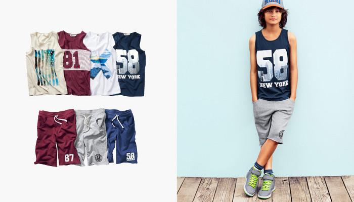 HM Kids magliette estate
