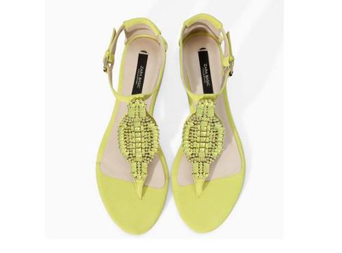 Sandali gioiello Zara estate 2014